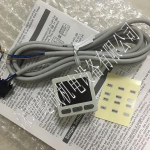 日本SMC壓力表ZSE20-N-M5-L新品特價數字壓力表混合壓真空壓用