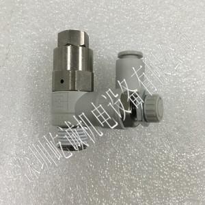 原裝SMC 帶消聲器排氣節流閥 ASP430F-02-06S