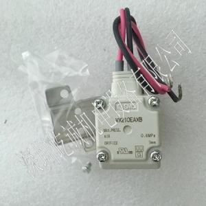 日本SMC兩通直動電磁閥VX210EAXB口徑1/4壓力AC220V空氣用