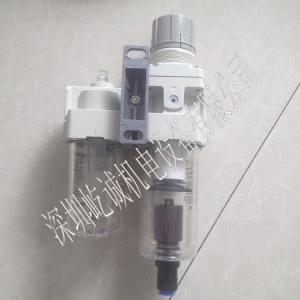 日本SMC空氣組合元件AC40D-04DG-A自動排水型AW40+AFM40